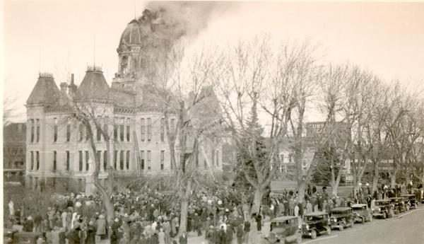courthouse fire 1932