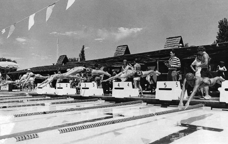 Swimming Competitions 1970s