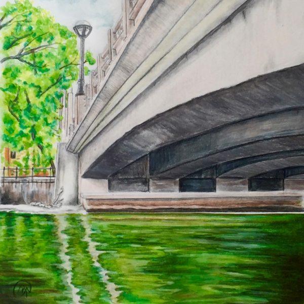 Boulder Creek and Bridge