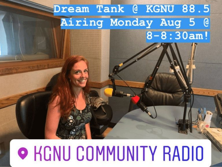 DREAM TANK AIRS ON KGNU ON FIRST DAY OF FUTURE OF BOULDER ACCELERATOR - Dream Tank