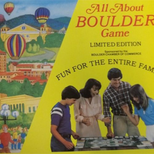 All About Boulder Game box cover