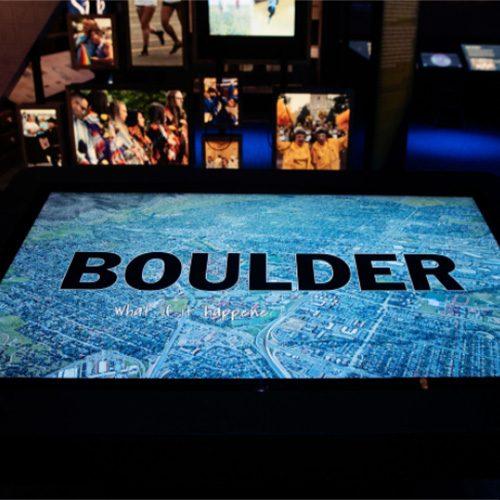 Boulder Exhibit
