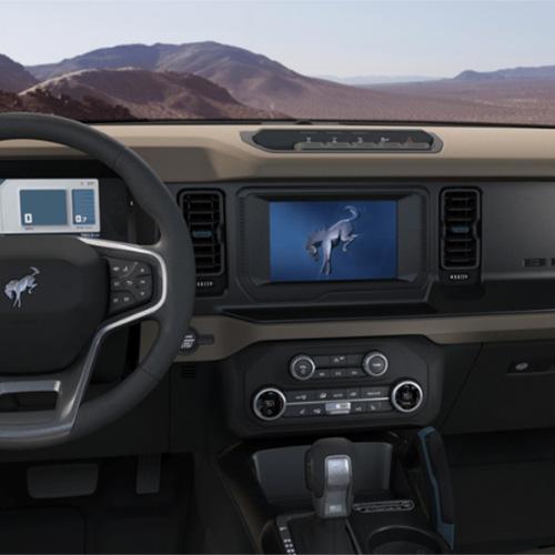 Bronco dashboard